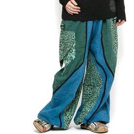 エスニック パンツ ロング 3タイプ メンズ レディース エスニックファッション アジアンファッション アラジンパンツ サルエルパンツ ゆったり 履きやすい ダンス衣装 大きいサイズ