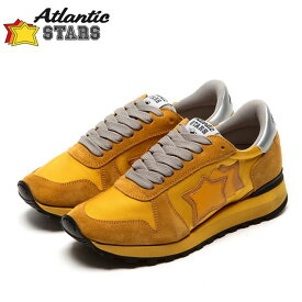Atlantic STARS(アトランティックスターズ)ALHENA アレナ OT-NY-NGGN イエロービブラムソール レディース スニーカー