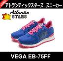 【送料無料】【正規品】【2017SS】Atlantic STARS(アトランティックスターズ)レディース スニーカー VEGA EB-75FF ブルー