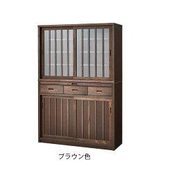 食器棚幅120cmキッチン収納キッチンボードレンジ台キッチン収納棚スライド台所ラック食器キッチンラック国産
