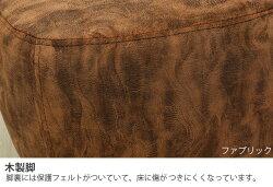 アニマルスツールパグブラウン座れるイススツール1Pスツールオットマン恐竜サイドテーブル足置きイスチェアコンパクトインテリア