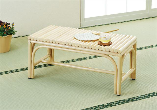 籐ベンチ Y-876 ナチュラル 籐 籐家具 ベンチ 椅子 イス アジアンリビングルーム籐 ラタン 製 輸入品 完成品