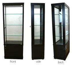 コレクションボードコレクションケースキュリオケースショーケースフィギュア鍵付きディスプレイラックケース棚ボードショーケースキャビネット壁面収納幅60cm高さ172cm完成品