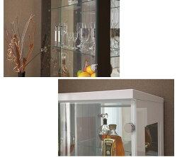 コレクションボードロータイプ高さ130cm幅70cm奥行き46cm飾り棚コレクションケースショーケースガラスケースキュリオケースフィギュアケース