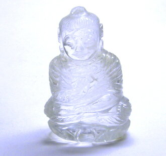 Sculpture product of natural crystal 108 g Buddha