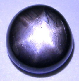 天然ブラックスターサファイア3.37ct