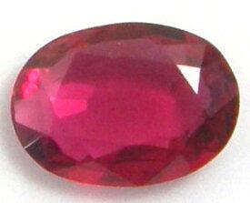 天然石 ルビー0.64ctモンシュー産