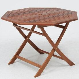 八角テーブル 110cm GT05FB ブラウン fj-81062送料無料 北欧 モダン 家具 インテリア ナチュラル テイスト 新生活 オススメ おしゃれ 後払い ダイニング ナチュラルテイスト