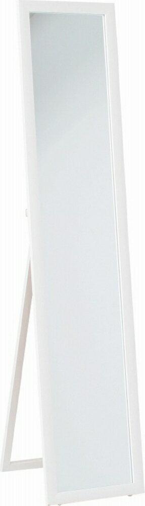 鏡面スタンドミラー HB−8260N WH ホワイト fj-82592 北欧 送料無料 クーポン プレゼント 通販 後払い 新生活 オススメ %off ジェンコ 【RCP】 北欧 モダン インテリア ナチュラル テイスト 雑貨