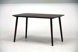 ダイニングテーブル エクレア 120×75 DBR ダークブラウン fj-92602送料無料 北欧 モダン 家具 インテリア ナチュラル テイスト 新生活 オススメ おしゃれ 後払い ダイニング ナチュラルテイスト