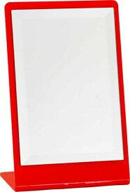 卓上ミラー JL−8505 レッド fj-92579送料無料 北欧 モダン 家具 インテリア ナチュラル テイスト 新生活 オススメ おしゃれ 後払い 雑貨