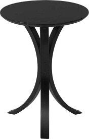 サイドテーブル CF−913 BK ブラック fj-95993送料無料 北欧 モダン 家具 インテリア ナチュラル テイスト 新生活 オススメ おしゃれ 後払い ダイニング ナチュラルテイスト