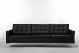【保証付き】フローレンス・ノール 1207 ソファ 3p デラックスレザー kaw-sf7225cdl送料無料 北欧 モダン 家具 インテリア ナチュラル テイスト 新生活 オススメ おしゃれ 後払い ソファ sofa
