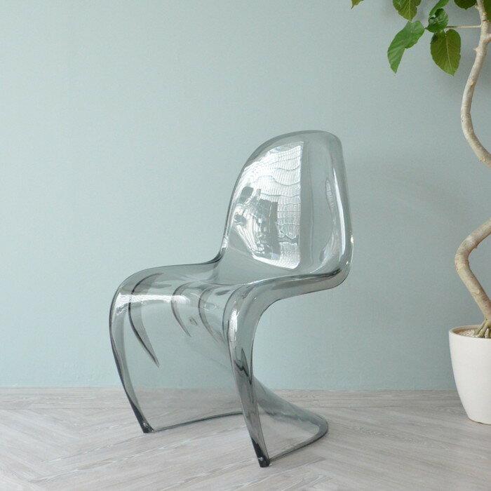 ヴェルナー・パントン パントンチェア クリア PANTON Chair pr-art-ds032 北欧 送料無料 クーポン プレゼント 通販 NP 後払い 新生活 オススメ %off ジェンコ 【RCP】 北欧 モダン インテリア ナチュラル テイスト イス オフィス デスクチェア