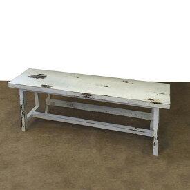 ウッドファニチャー ホワイト塗装 ウッドベンチ ガーデンテーブル sun-4860602s1送料無料 北欧 モダン 家具 インテリア ナチュラル テイスト 新生活 オススメ おしゃれ 後払い イス オフィス デスクチェア