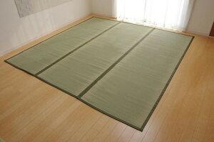 日本製 い草上敷 草津 くさつ 本間 6畳 286×382cm ike-526082s12送料無料 北欧 モダン 家具 インテリア ナチュラル テイスト 新生活 オススメ おしゃれ 後払い マット 絨毯 ラグ カーペット リビング