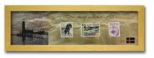 切手 アンティーク調 インテリアアート Stamp Collection ナチュラル スウェーデン PZ-7028 kar-3067196s4送料無料 北欧 モダン 家具 インテリア ナチュラル テイスト 新生活 オススメ おしゃれ 後払い