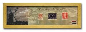 切手 アンティーク調 インテリアアート Stamp Collection ナチュラル オランダ PZ-7030 kar-3067196s5送料無料 北欧 モダン 家具 インテリア ナチュラル テイスト 新生活 オススメ おしゃれ 後払い 雑貨