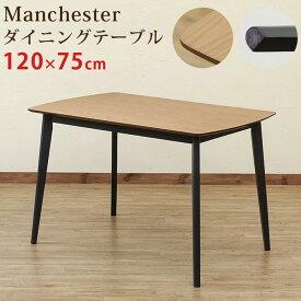 Manchester ダイニングテーブルのみ 120×75cm sk-pmb01送料無料 北欧 モダン 家具 インテリア ナチュラル テイスト 新生活 オススメ おしゃれ 後払い ダイニング ナチュラルテイスト