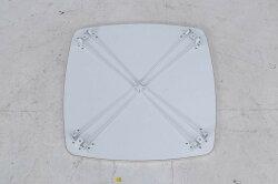 カラーテーブル角60ホワイト/ホワイトCCB6060F-WHfj-14433送料無料北欧モダン家具インテリアナチュラルテイスト新生活オススメおしゃれ後払いダイニングナチュラルテイスト