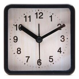 置時計 ウィル スクエア ブラック EG7704P-BM113 fj-99071送料無料 北欧 モダン 家具 インテリア ナチュラル テイスト 新生活 オススメ おしゃれ 後払い クロック 掛け 置き