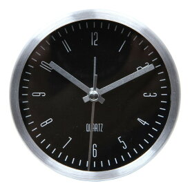 置時計 イースト ラウンド ブラック EG7703-BM48 fj-99077送料無料 北欧 モダン 家具 インテリア ナチュラル テイスト 新生活 オススメ おしゃれ 後払い クロック 掛け 置き