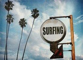 キャンバスアート Carino Canvas Art surfing sign with palm trees 700x500mm 700x500x25mm ZPT-61750 bic-7030277s1送料無料 北欧 モダン 家具 インテリア ナチュラル テイスト 新生活 オススメ おしゃれ 後払い 雑貨