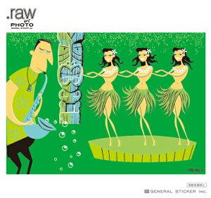 SHAG アートフォトポスター 絹目写真A4ポスター HURADANCERS シャグ アート アーティスト ポスター インテリア イラスト ライセンス商品 RAW023 gs 公式グッズ