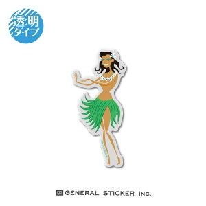 SHAG 透明 HULA DANSE Sサイズ シャグ アート アーティスト ステッカー イラスト ライセンス商品 SHAG001 gs 公式グッズ