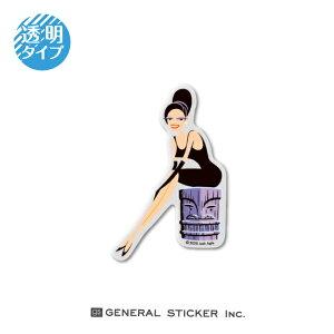 SHAG 透明 TIKI REPOSE Sサイズ シャグ アート アーティスト ステッカー イラスト ライセンス商品 SHAG005 gs 公式グッズ