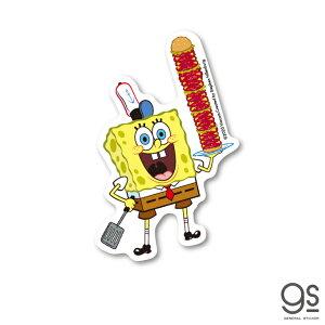 スポンジ・ボブ ミニステッカー ハンバーガー キャラクターステッカー アメリカ アニメ SpongeBob SPO014 gs 公式グッズ