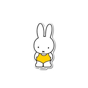 miffy ミッフィー 水着 キャラクターステッカー 絵本 イラスト かわいい こども ダイカットステッカー うさぎ うさこちゃん 人気 MIF006 gs 公式グッズ