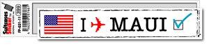 フットプリントステッカー FP031-11 マウイ MAUI スーツケース ステッカー トラベル グッズ