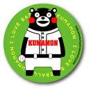 KUMA27 くまモン 76mm缶バッジ BASEBALL スポーツシリーズ