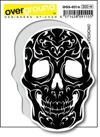 OGS0216 TURKEYS DESIGN スカル トライバル アーティストグッズ イラストレーター ステッカー