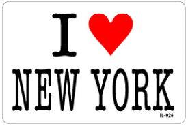 アイラブステッカー IL026 I love NEW YORK