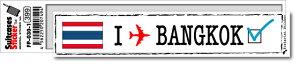 フットプリントステッカー FP030-01 バンコク BANGKOK スーツケース ステッカー トラベル グッズ
