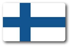 SK228 国旗ステッカー フィンランド FINLAND 100円国旗 旅行 スーツケース 車 PC スマホ