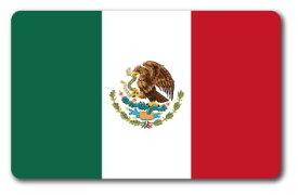 SK248 国旗ステッカー メキシコ MEXICO 100円国旗 旅行 スーツケース 車 PC スマホ