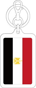 KSK254 エジプト EGYPT 国旗キーホルダー 旅行 スーツケース