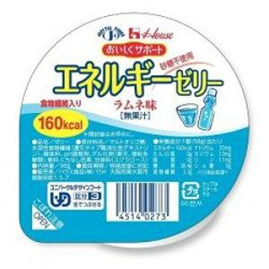 ハウス エネルギーゼリー ラムネ味 98g 砂糖不使用 区分3