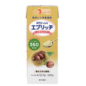 フードケア エプリッチゼリー 栗ようかん風味 24本入