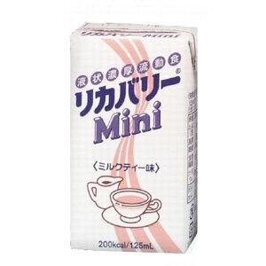 NUTRI ニュートリー リカバリーmini ミルクティー味125ml×12本やさしい大豆のおいしい流動食