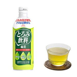 [直送品]エバースマイル とろみ飲料 緑茶 475g×6本 大和製罐[直送品以外との同梱不可]