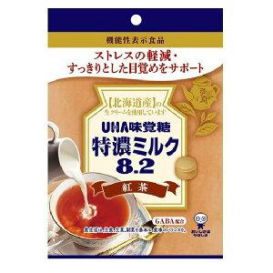 特濃ミルク8.2 紅茶 93g 機能性表示食品 GABA配合 UHA味覚糖