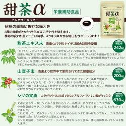 甜茶αてんちゃアルファー3袋セット(1袋120粒入×3)約90日分メール便送料無料花粉対策栄養補助食品