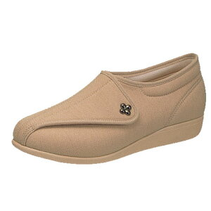 介護靴 婦人用 快歩主義L011(オークストレッチ)アサヒコーポレーション
