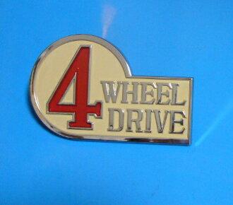 랜드 크루저 BJ, FJ4 # 4WHEEL DRIVE 엠 블 럼 69 ~ 79