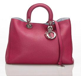 クリスチャン ディオール 2WAY ディオリッシモ ハンド バッグ レザー ピンク Christian Dior 【中古】 楽ギフ あす楽