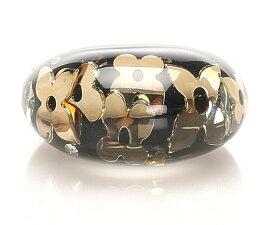 ルイヴィトン バーグ・アンクルージョン 指輪 プラスチック ブラック/ゴールド LOUIS VUITTON 【中古】 楽ギフ あす楽